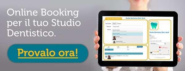 Scopri il Sistema di Online Booking per Dentisti